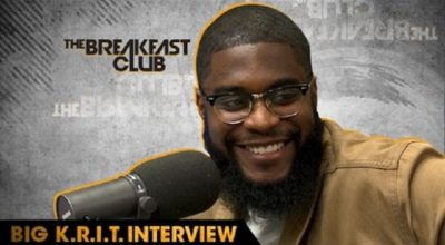 "Big K.R.I.T. interviews with The Breakfast Club and releases ""Free Agent"" single"