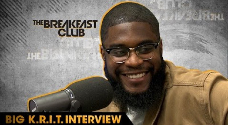 """Big K.R.I.T. interviews with The Breakfast Club and releases """"Free Agent"""" single"""