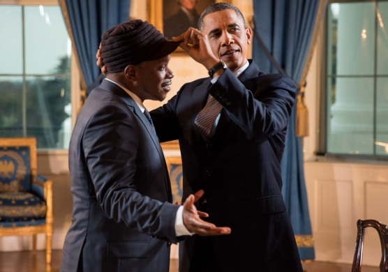 Barack Obama names his top Hip Hop MC's and said Chance the Rappers is family.