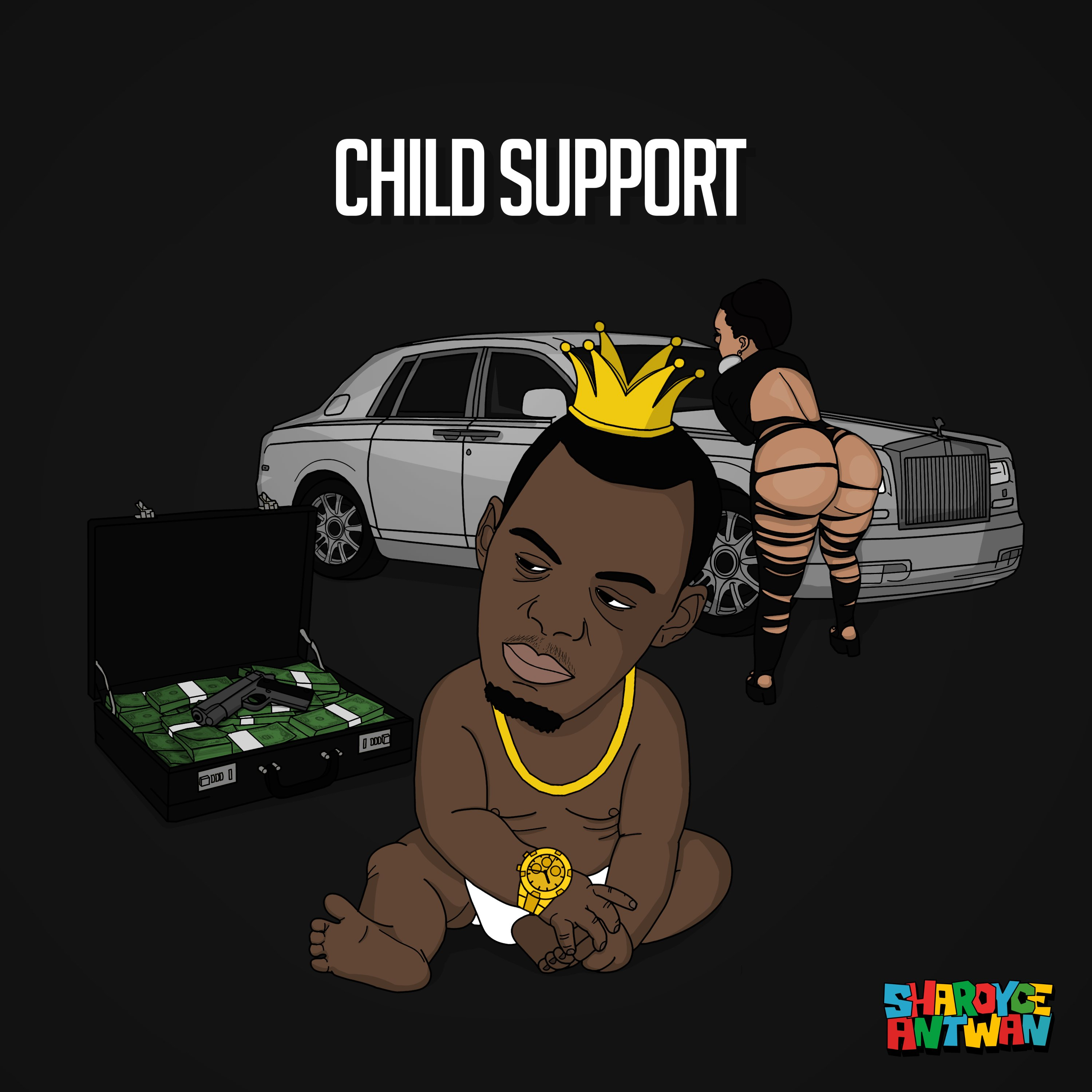 "Sharoyce Antwan presents new club banger ""Child Support"""